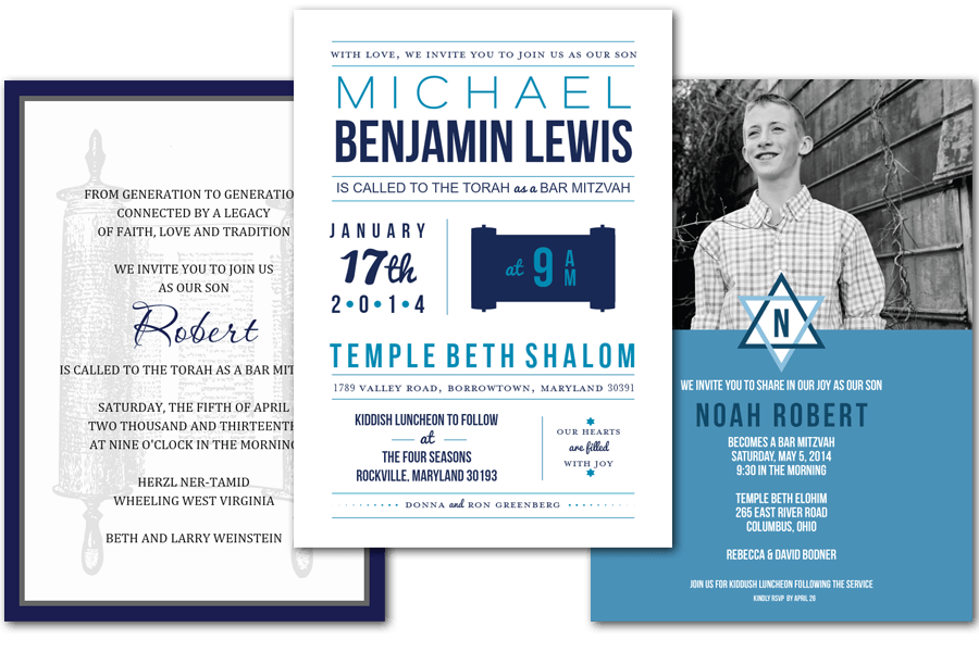 email online bar bat mitzvah invitations that wow greenvelope com