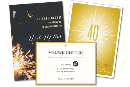 email online birthday party invitations that wow greenvelope com