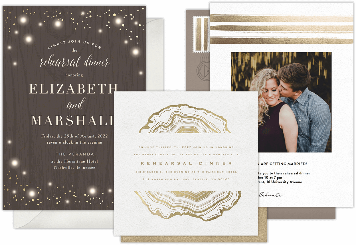 email online rehearsal dinner invitations that wow greenvelope com