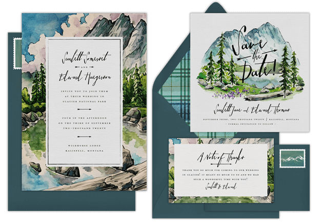 When Should Save The Dates Be Sent: Email Online Wedding Save The Dates That WOW