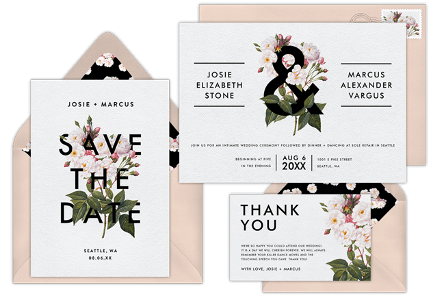 email online wedding save the dates that wow greenvelope com